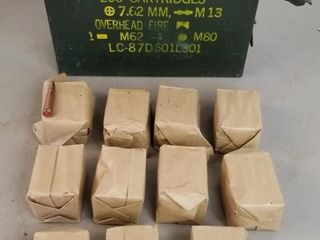(275RDS)7.62 X 39mm Ammo With Ammo Box