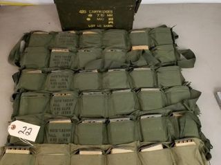 (360RDS) 7.62mm Nato Ammo 5rd Clips Bandoleers