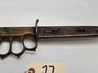 Original U.S. WW1 Model 1918 Mark 1Trench Knife