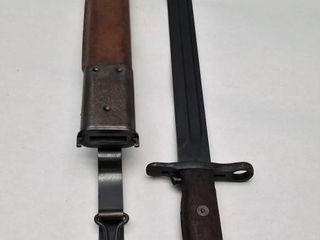 U.S. R.I.A. 1919 Bayonet With R.I.A. 1909 Scabbard