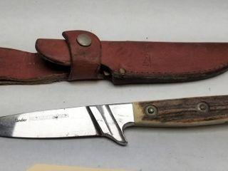 Linder Forstmeister Solingen Fixed Blade Knife