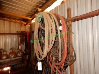Air Hoses, Belts, Drag Chains (Hanging On Wall)