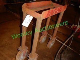 Custom Built Shop Cart On Castors