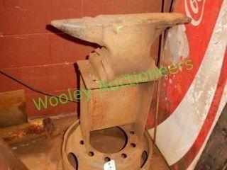 Wheel Mounted Anvil