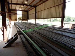 Custom Built 90? 5-Strand Grading Chain/Log Deck