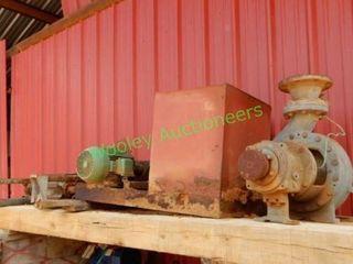 Water Pump GOULDS 3196, Electric Motor, Tank,