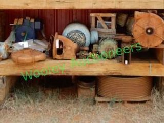 Electric Motors And Pump Parts In Group And Large