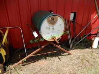 55 Gallon Drum On Metal Stand
