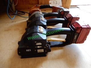 (4) Automatic Banding Tools; (3) Fromm Model P329