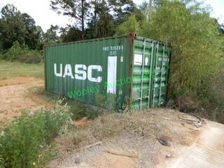 Shipping Container ? Green, Contents Unknown