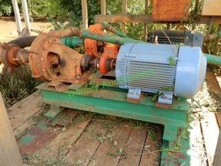 Water Pump & Electric Motor w/ Breaker Box And