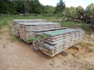 (3) Packs of Pine Lumber, Assorted LxW