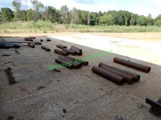(30 +/-) Metal Rollers Near Pacific Trail Mfg Saw