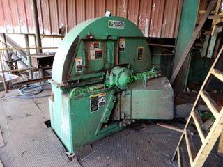 Precision Husky 60? +/- Chipper on Steel Platform