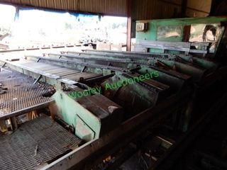 Custom Built 25? 5-Strand Log Deck & Log Turner