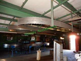 (3) Band Saw Blade (2 on ceiling, 1 on machine)