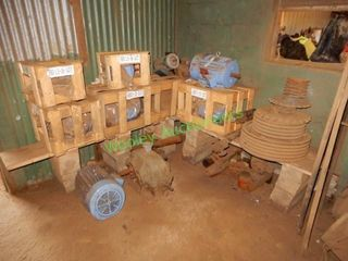 (9) Assorted Electrical Motors And Other Items In