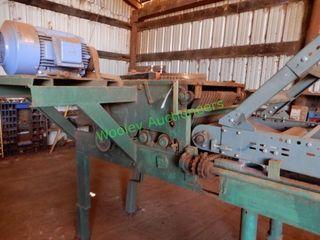 Edger; 24? w/ Hytrol Roller Conveyor; (OUT OF