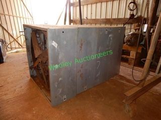 (4) Industrial Warehouse Fans w/ Vents for Each