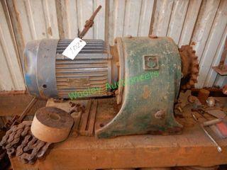 Heavy Duty SKK Electric Motor & Drive