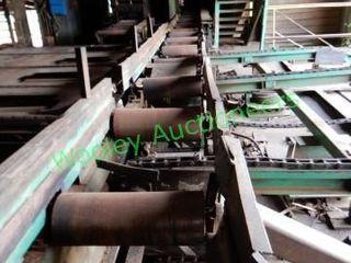 Custom Built 50? +/- Transfer Roller Conveyor