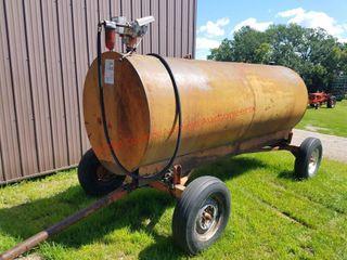 1000 gal Dsl Fuel Tank w/wagon