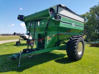 J & M 525 Grain Cart, Scale & Tarp