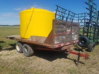 Water Wagon 1600 Gallon Tank w/ Mixing Cone & Pump