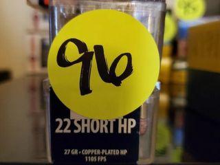 CCI SHOTSHELL -22 SHORT HP