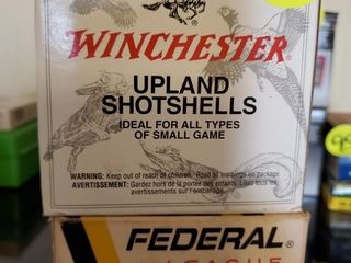FEDERAL 12G / WINCHESTER UPLAND SHELLS