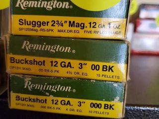 REMINGTON SLUGGER AND BUCKSHOT 12G
