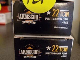 ARMSCOR 22TCM -2 BOXES