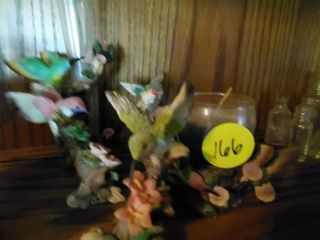 COLLECTION OF HUMMINGBIRD FIGURINES
