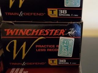 WINCHESTER AND FEDERAL 38 SPECIAL BULLETS
