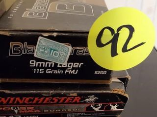 BLAZER BRASS 9mm / WINCHESTER 243
