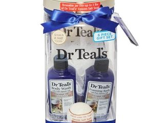 Dr Teal s 5 Piece Soothing Coconut Oil Bath and Body Gift Set