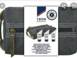 IZOD Mens PerformX 3pc  Travel Case Set