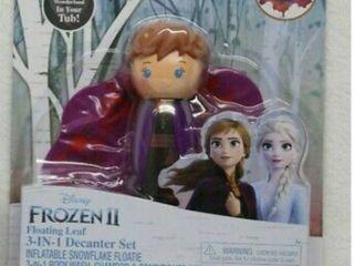Frozen 2 Anna Floatie Snowflake 3in1 Decanter Set Body Wash Shampoo Conditioner