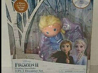 Disney Frozen 2 Elsa Floating 3n1 Bath Gel Soap Set Inflatable Snowflake Toy Fun