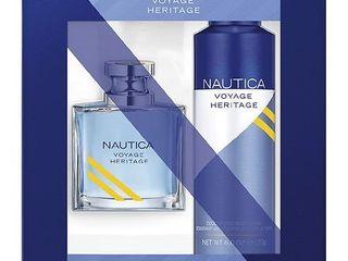 Nautica Voyage Heritage Fragrance Set   1 0 ea x 2 pack