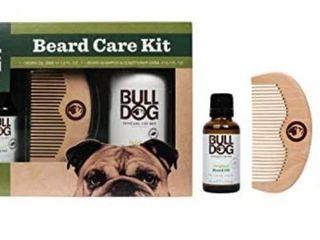 Bull Dog Beard Care Kit Skincare W Beard Oil Shampoo Conditioner Comb Gift  r