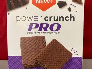 Power Crunch PRO Protein Energy Bar Triple Chocolate 4pk EXP 6 2021 Retail  13 99