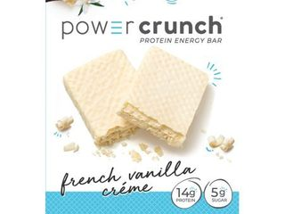 Power Crunch Protein Energy Bar   French Vanilla Creme 5pk EXP 8 2021 Retail  10 99