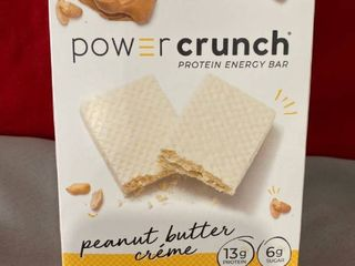 Power Crunch Protein Energy Bar Peanut Butter Creme 5pk EXP 5 2021 Retail  11 99