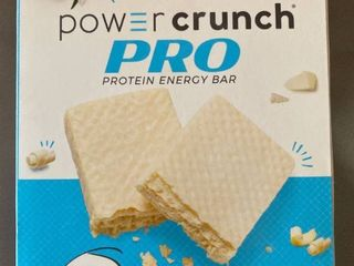 Power Crunch Pro 20g Protein Energy Wafer Bar  4 Pack   French Vanilla Creme EXP 6 2021 Retail  10 79