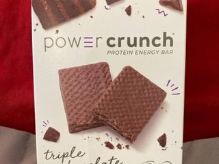Power Crunch Original Protein Bar  13g Protein  Triple Chocolate  7 Oz  5 Ct EXP 9 2021 Retail  14 99