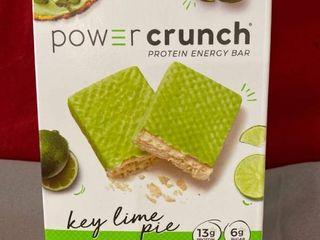 Power Crunch Original Protein Bar  13g Protein  Key lime Pie  7 Oz  5 Ct EXP 8 2021 Retail  12 99