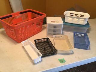 shopping basket, organizers