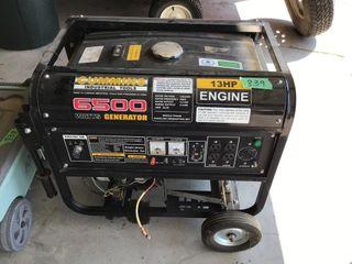 13 hp, 6500 generator