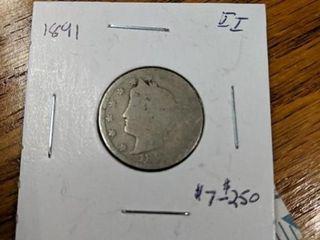 1891 v nickel
